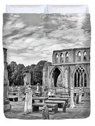 Ruins Of A Cathedral, Elgin Cathedral Duvet Cover