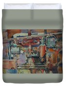 Rusty Engine  Duvet Cover