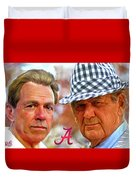 Saban And Bear Duvet Cover