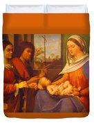 Sacred Conversation 1505 Duvet Cover