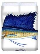 Sailfish Duvet Cover