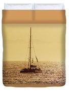 Sailing In The Sunlight Duvet Cover