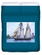 Sailing With Pride Duvet Cover