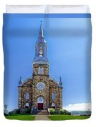 Saint Peter's Catholic Church Duvet Cover
