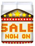 Sale Theatre Marquee Duvet Cover