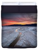 Salt Creek Flats Duvet Cover