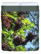 Sambucus Elderberry Sureau Duvet Cover