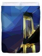 San Francisco Bridge Duvet Cover by ISAW Company