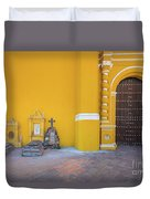 San Gabriel Tombs Duvet Cover