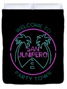 San Junipero Duvet Cover