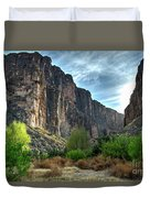 Santa Elena Canyon Duvet Cover