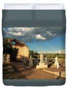 Saint Rose De Lima Chapel Duvet Cover