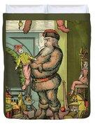 Santa Toys Duvet Cover
