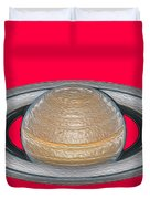 Saturnian Image 2 Duvet Cover