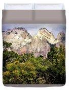 Scenic Zion - Mount Carmel Highway Drive 4 Duvet Cover
