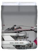 Sea And Air Turks And Caicos Duvet Cover