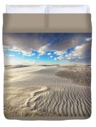 Sea Of Sand - Endless Dunes At White Sands New Mexico Duvet Cover