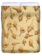 Sea Shell Scroll Duvet Cover