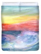 Sea Wave Duvet Cover