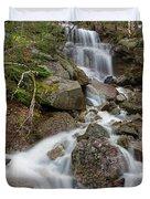 Seasonal Waterfall - Franconia Notch, New Hampshire Duvet Cover by Erin Paul Donovan