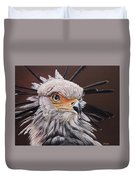 Secretary Bird Duvet Cover