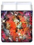 See The Flames Duvet Cover