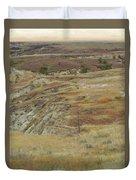 September Reverie In Dakota West Duvet Cover