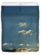 Shadows And Pigeons  Duvet Cover