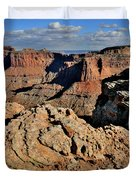 Shafer Canyon In Canyonlands Np Duvet Cover