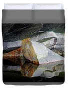 Shawanaga Rock And Reflections I Duvet Cover
