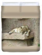 She Lion Duvet Cover