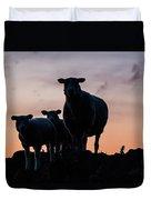 Sheep Family Duvet Cover