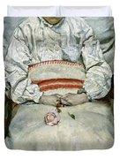 Sick Girl, 1881 Duvet Cover