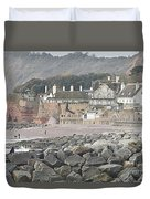 Sidmouth Sea Front Duvet Cover