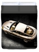 Silver Styling Duvet Cover