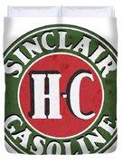 Sinclair Gasoline Duvet Cover