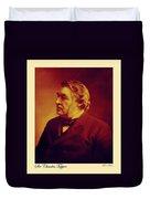 Sir Charles Tupper Duvet Cover