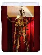 Skeleton  In Torturedevise Duvet Cover