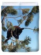 Sleeping Bear Cub Duvet Cover
