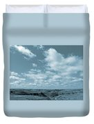 Slope County And Sky Duvet Cover