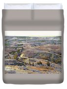 Slope County Badlands Reverie Duvet Cover