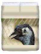 Smiley Face Emu Duvet Cover
