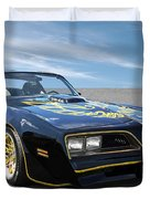 Smokey And The Bandit Trans Am Duvet Cover