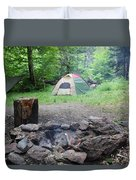 Smoking Tents Duvet Cover