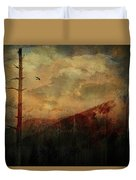 Smoky Morning Duvet Cover