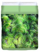 Snake Cactus Duvet Cover