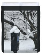 Snow Day Duvet Cover by Lora J Wilson