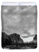 Snow In Yosemite Valley II Duvet Cover