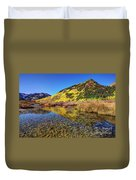 Snowmass Creek Duvet Cover