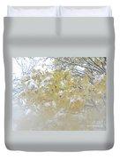 Snowy Maple Duvet Cover by PJ Boylan